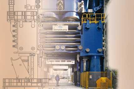 Forging machine improvement sketch