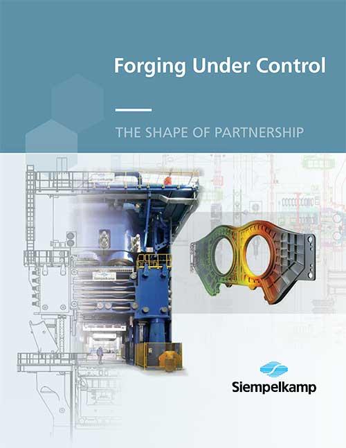 """Siempelkamp """"Forging Under Control"""" brochure"""